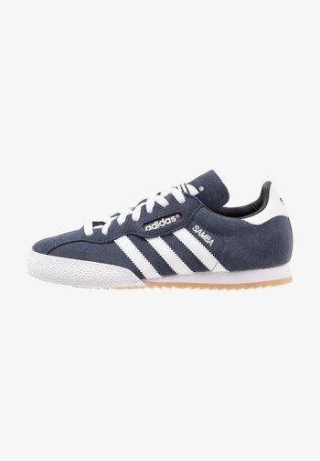 SAMBA SUPER SUEDE - Sneakers basse - marine/running white