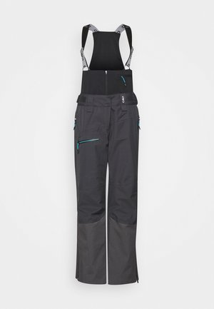 WOMAN SALOPETTE - Snow pants - antracite