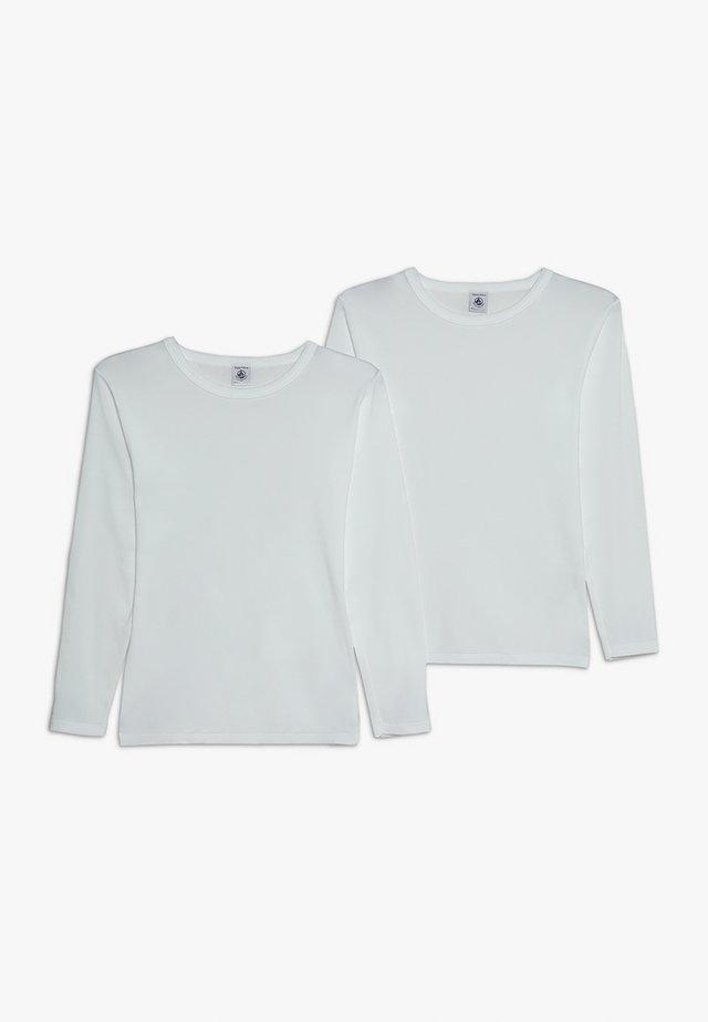 LOT 2 PACK - Hemd - white