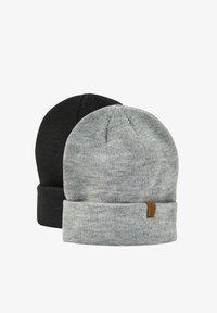 PULL&BEAR - 2 PACK - Čepice - black - 0