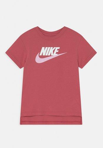 TEE BASIC FUTURA - T-shirt con stampa - archaeo pink/white/pink foam