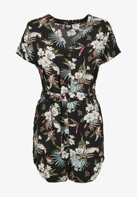 SHORT - Jumpsuit - black tropical