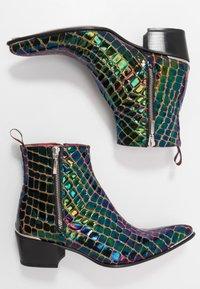 Jeffery West - SYLVAIN DOUBLE ZIP - Classic ankle boots - petol - 1