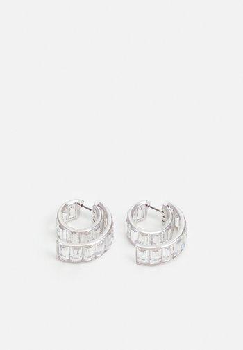 MATRIX - Earrings - silver-coloured