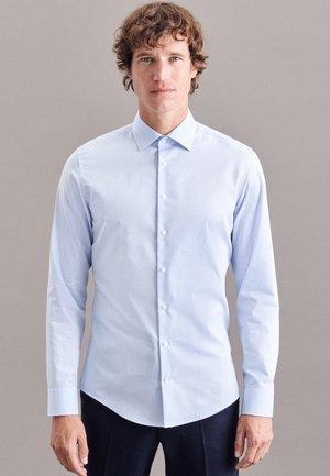 BUSINESS SLIM - Shirt - blau