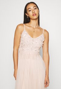 Lace & Beads - RIRI MIDI DRESS - Cocktail dress / Party dress - nude - 3