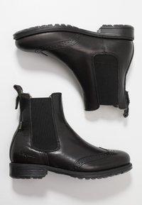 Bisgaard - BOOTIES - Zimní obuv - black - 0