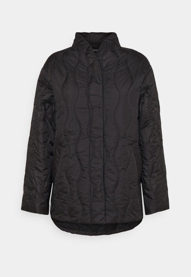 COAT ANNA - Klasický kabát - black