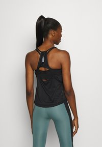 Under Armour - UA QUALIFIER ISO CHILL TANK - Funkční triko - black - 2