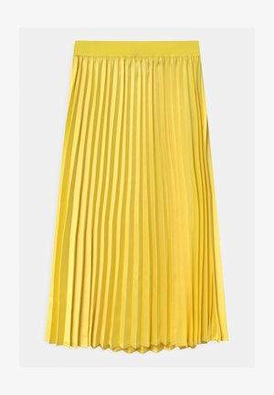 HAZZ - A-line skirt - yellow