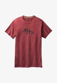 Smartwool - T-shirt print - red - 2
