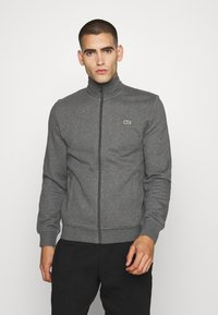 Lacoste Sport - CLASSIC JACKET - Zip-up hoodie - pitch chine/graphite sombre - 0