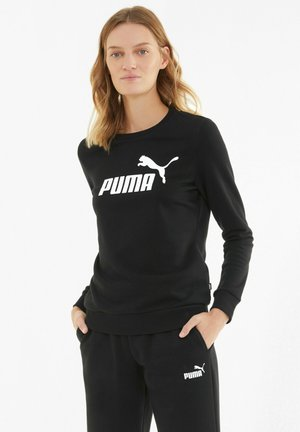 ESS LOGO CREW  - Sweatshirt -  black