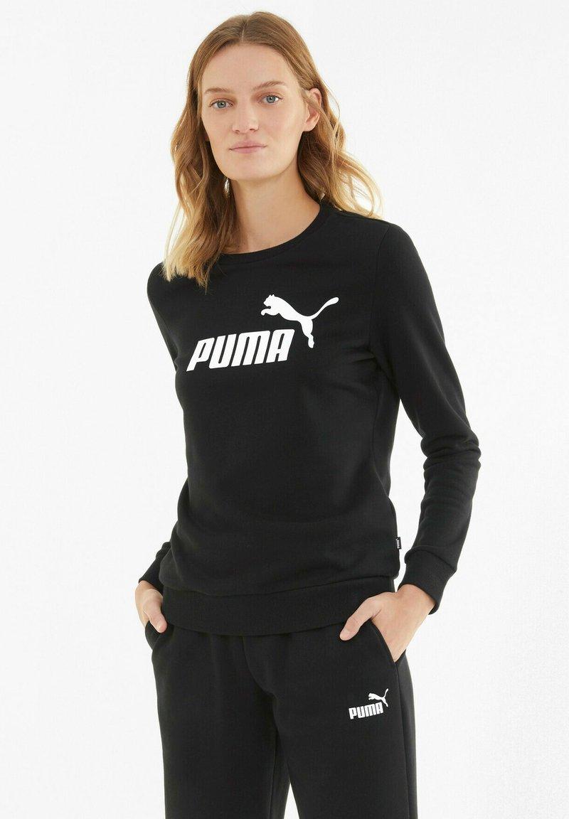 Puma - ESS LOGO CREW  - Sweatshirt -  black