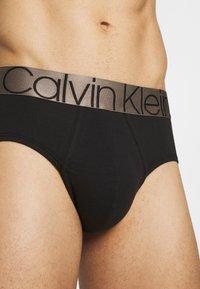Calvin Klein Underwear - ICON HIP BRIEF - Briefs - black - 3