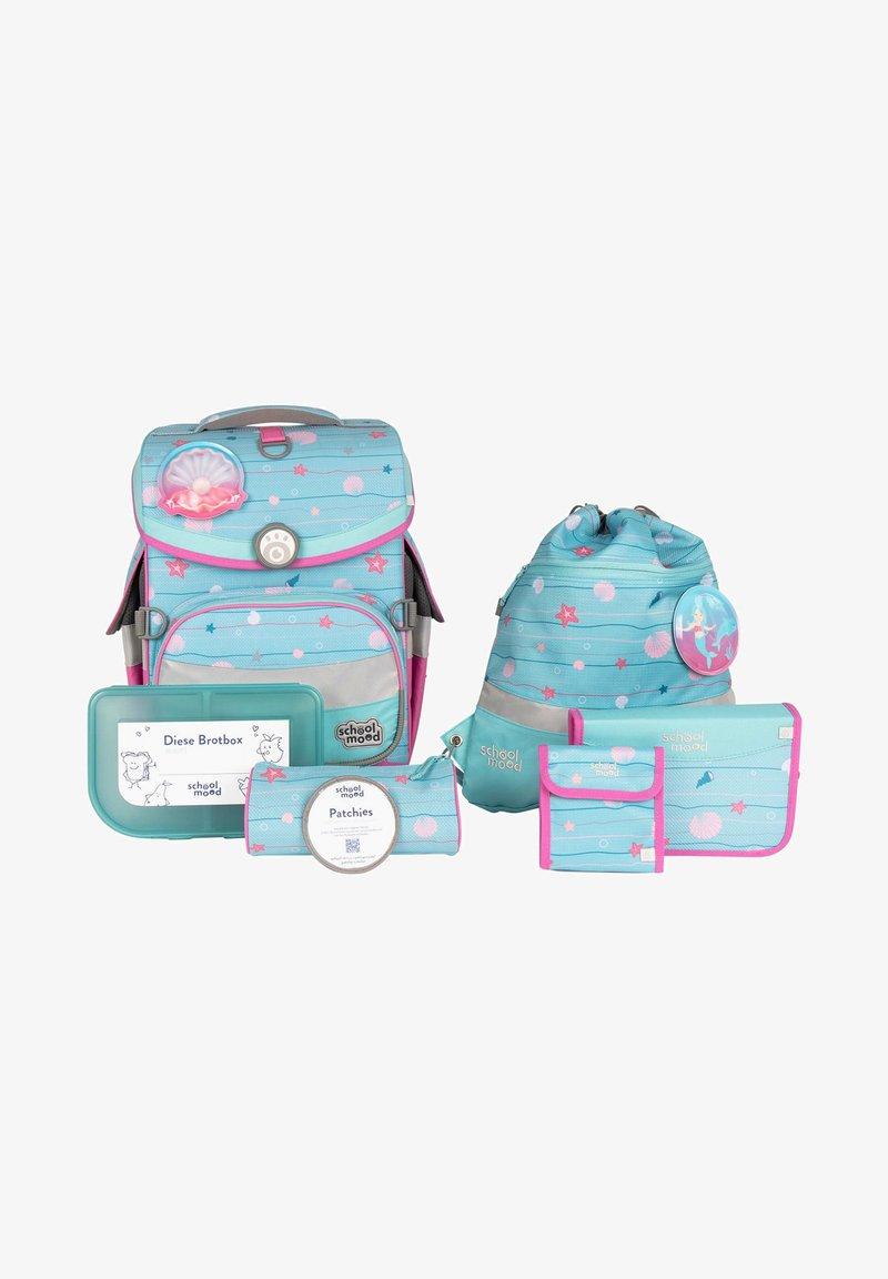 School Mood - SET - Schooltas set - turquoise