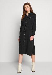 Pieces - PCNOLA  - Denní šaty - black - 0