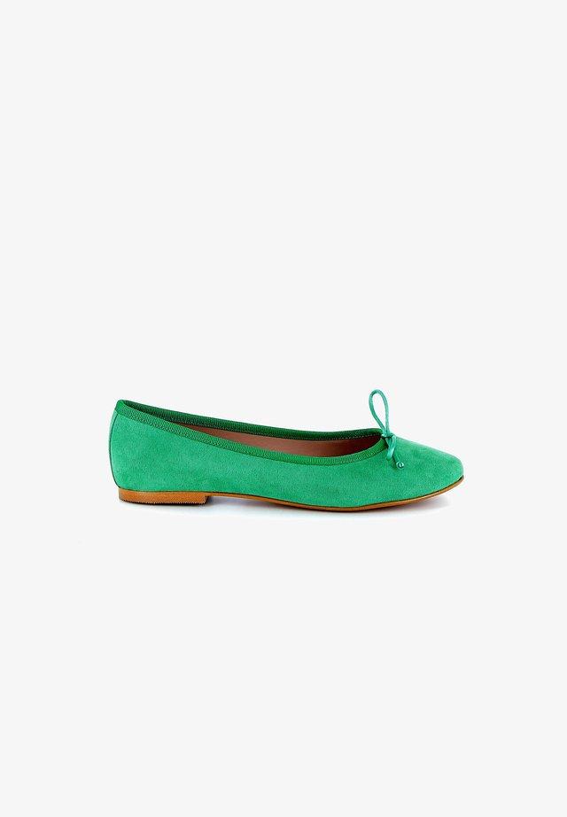 Ballerina's - green