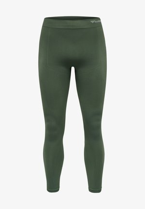 STROKE SEAMLESS - Tights - thyme