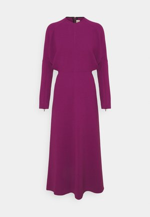 LONG SLEEVE DOLMAN MIDI - Cocktail dress / Party dress - orchid