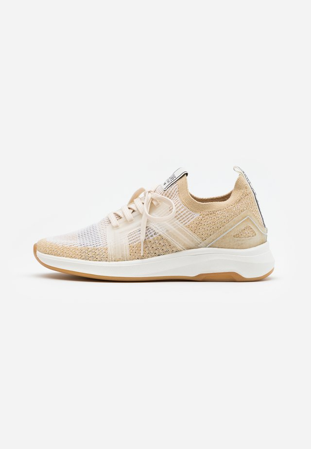 VENERE - Trainers - camel/offhwite