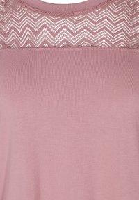 Zizzi - Print T-shirt - wistful mauve - 4