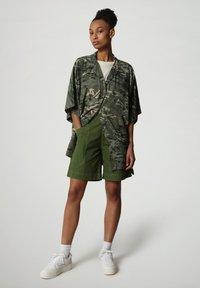 Napapijri - G-MAUI - Button-down blouse - camo green - 1