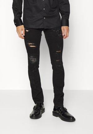 PANTS 5 POCKETS - Skinny džíny - black