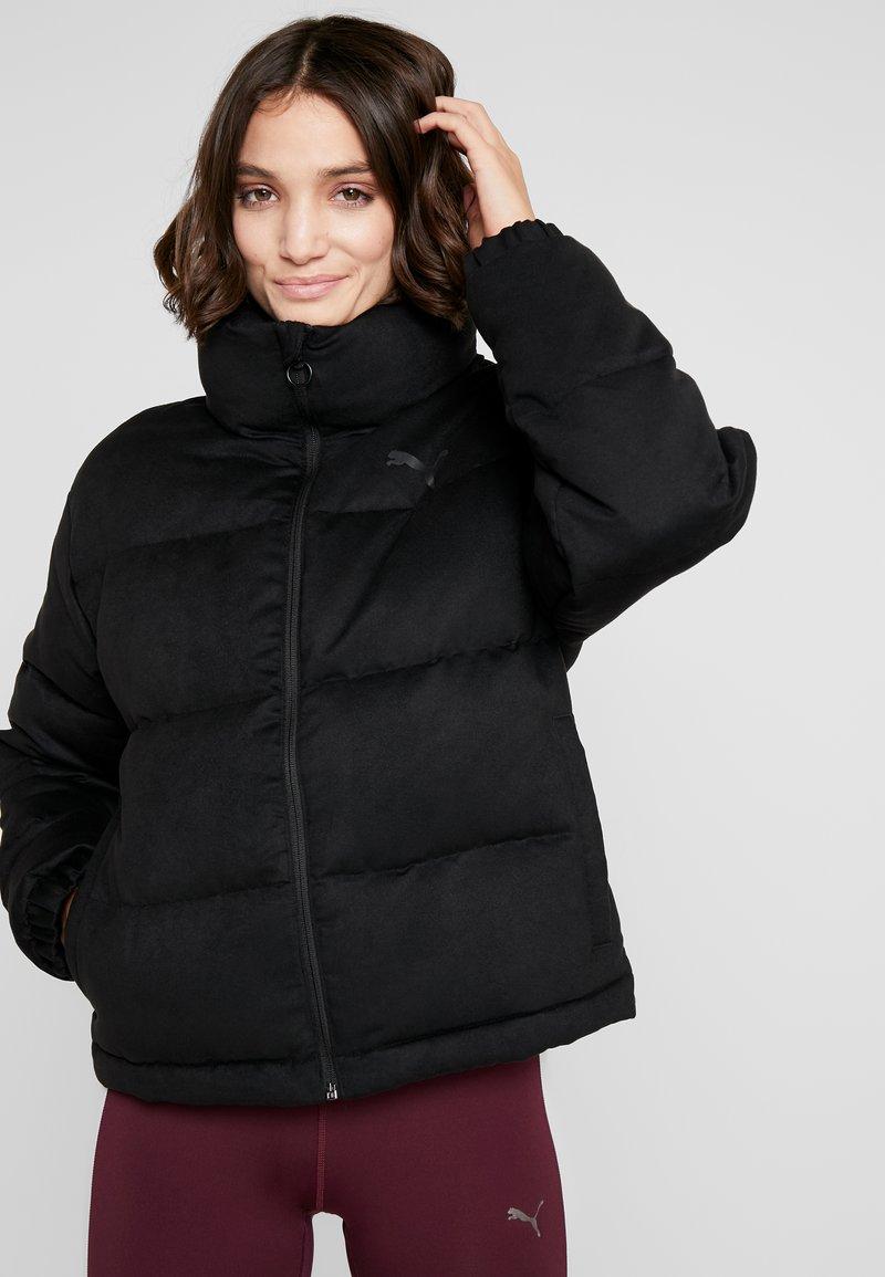 Puma - STYLE JACKET - Down jacket - puma black