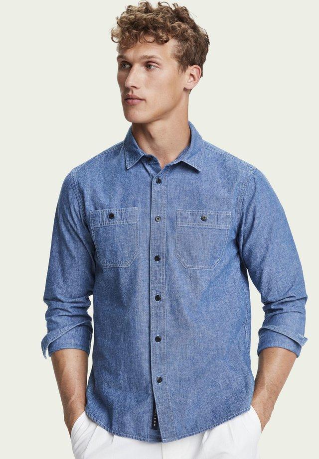 WORK WEAR - Skjorter - indigo