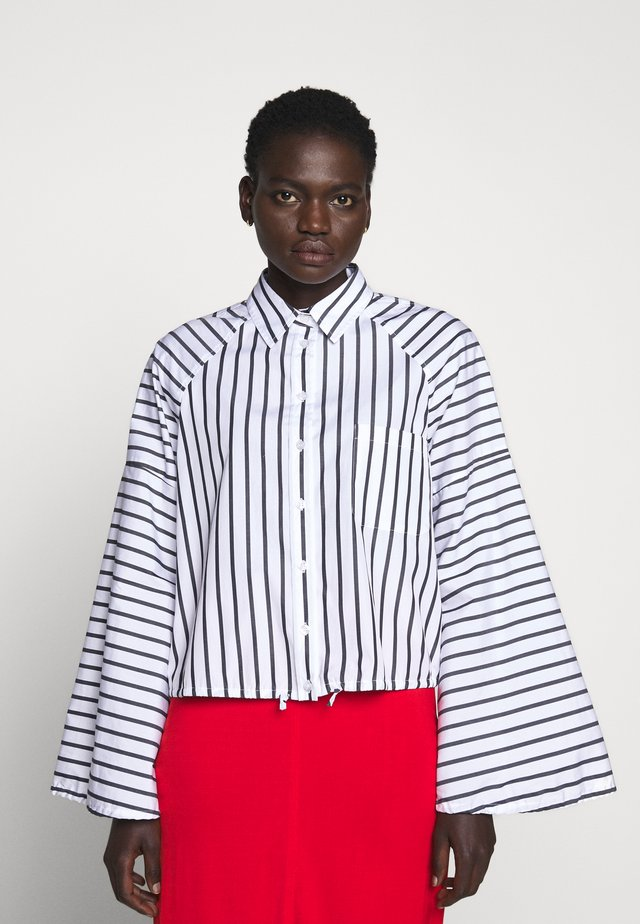 TAZZINA - Button-down blouse - weiss