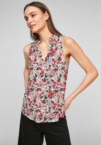 QS by s.Oliver - Blouse - apricot aop - 0