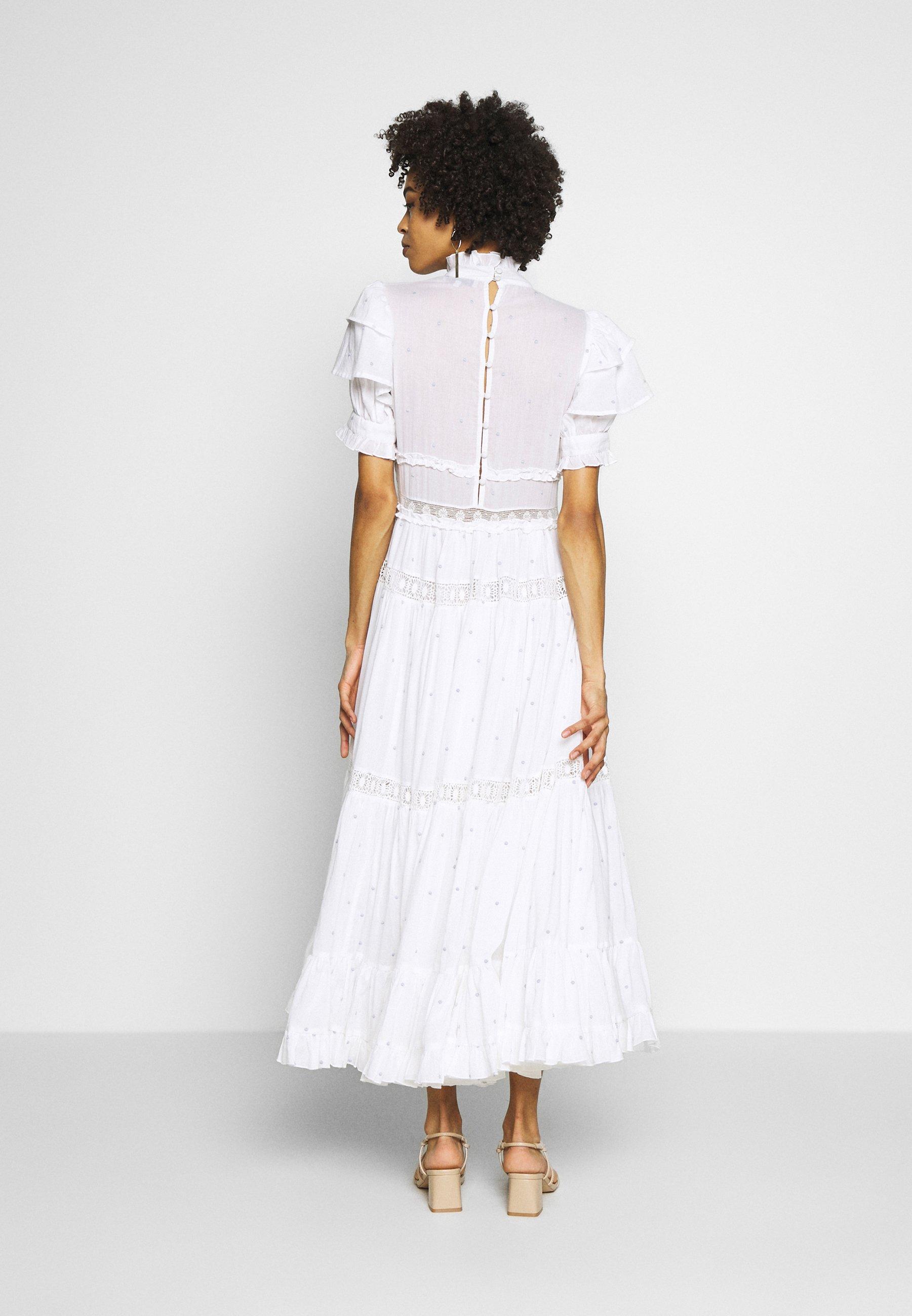By Malina IRO DRESS Maxiklänning white Zalando.se