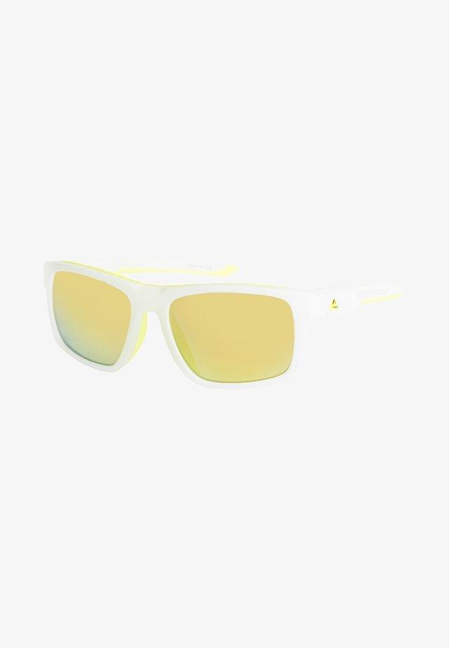 Sunglasses - matt foggy white/ml yellow