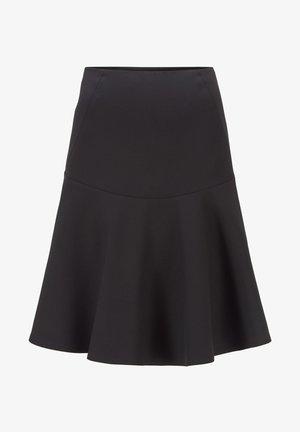 VASTY - Pleated skirt - black