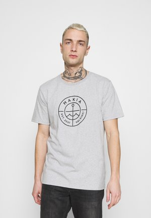 RE SCOPE - Printtipaita - light grey