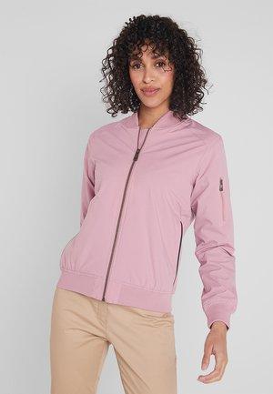 BOMBER JACKET - Waterproof jacket - old pink