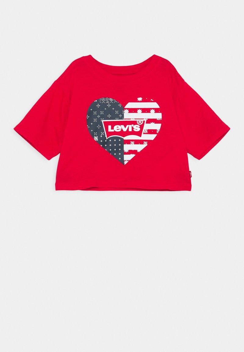 Levi's® - HIGH RISE TEE - Print T-shirt - super red
