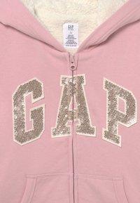 GAP - GIRL LOGO COZY  - Zip-up sweatshirt - pure pink - 2
