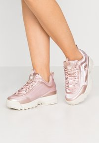 Fila - DISRUPTOR  - Trainers - sepia rose - 0