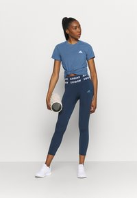 adidas Performance - T-shirt basique - blu/white - 1