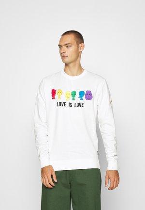 UNISEX PRIDE JARVIS - Sweatshirt - offwhite
