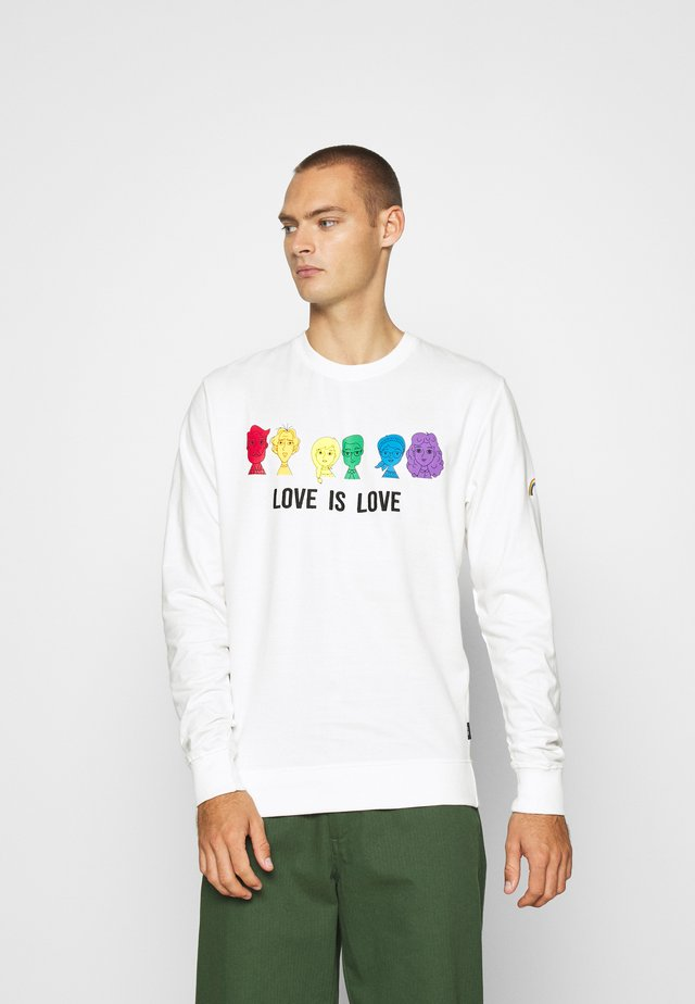 UNISEX PRIDE JARVIS - Sweater - offwhite