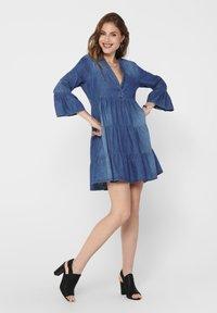 JDY - Denim dress - medium blue denim - 1