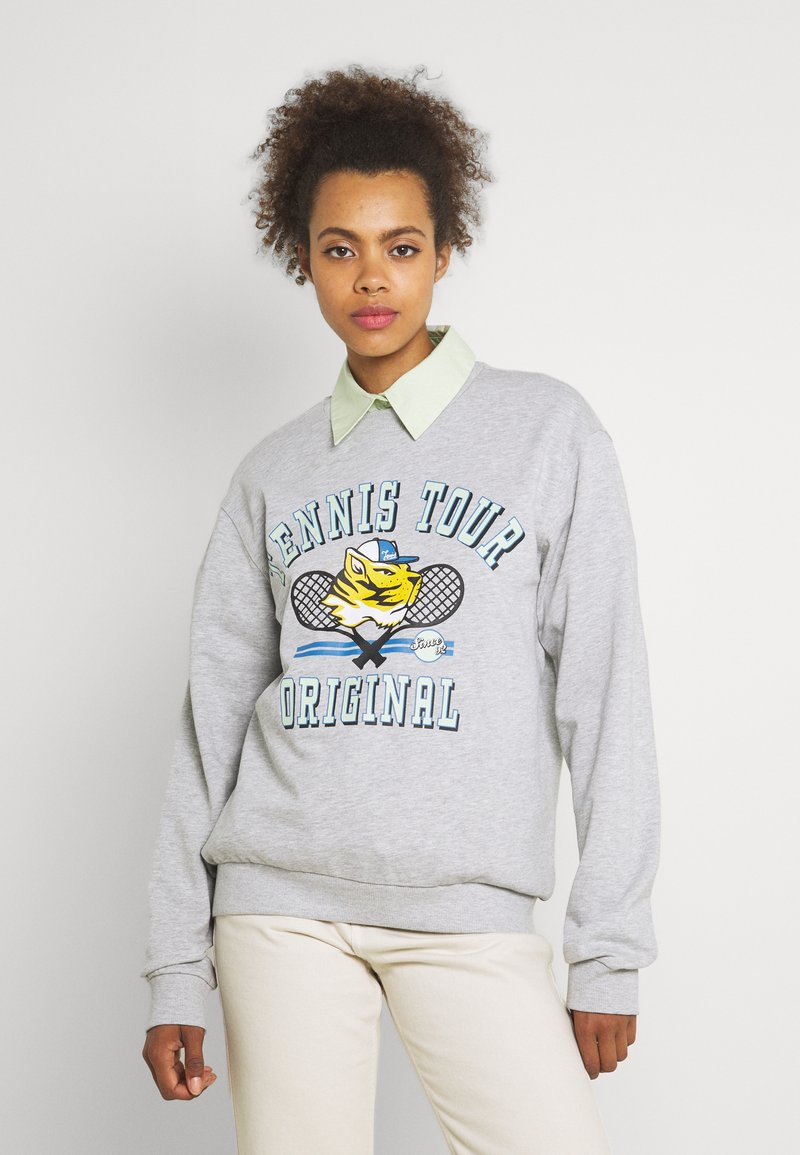 Gina Tricot - PARENT - Sweatshirt - grey melange