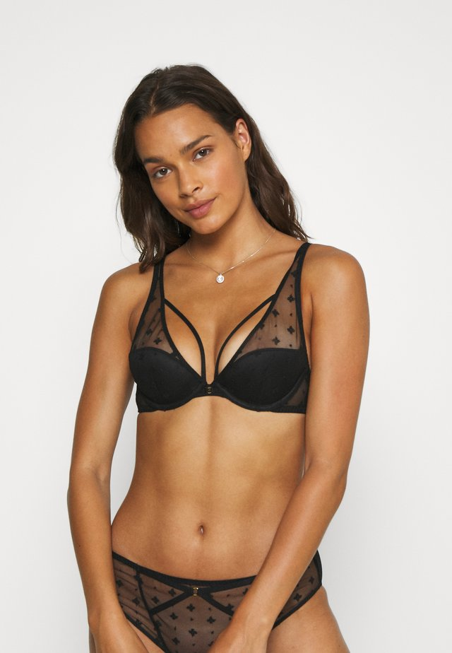 FLIRTY HAPEX - Underwired bra - black