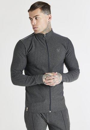 SMART ESSENTIALS FULL ZIP THOUGH DRILL - Bluza rozpinana - black