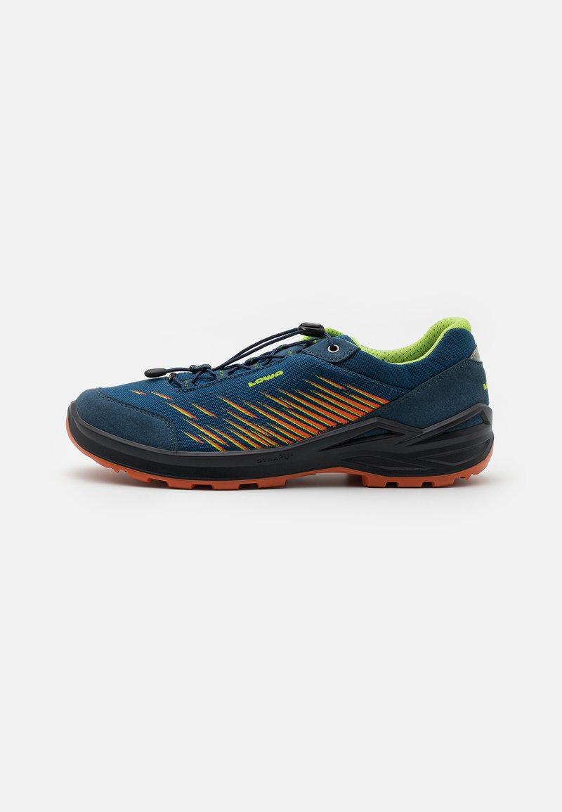 Lowa - ZIRROX GTX JUNIOR UNISEX - Hiking shoes - blau/orange