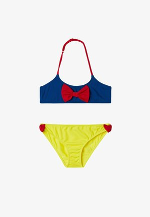 Bikini bottoms - blu/rosso/giallo