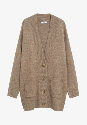 TALDORA - Strikjakke /Cardigans - brown